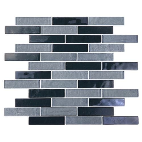 """Latest Miseno MT SCENERY1X4 Scenery 1"""" X 4"""" Glass Visual Wall Tile Sold by Sheet blue dane Size 12 x 12 Modern - Minimalist glass wall tiles for kitchen Inspirational"""