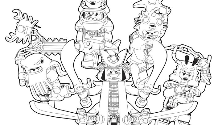Bad Guys Extended day program Pinterest - new new lego ninjago coloring pages