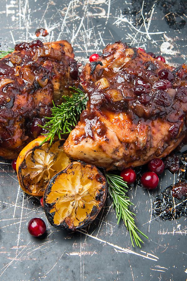 when you re not feeling christmas ham smother chicken in this festive cranberry bbq sauce bake it on your traeger