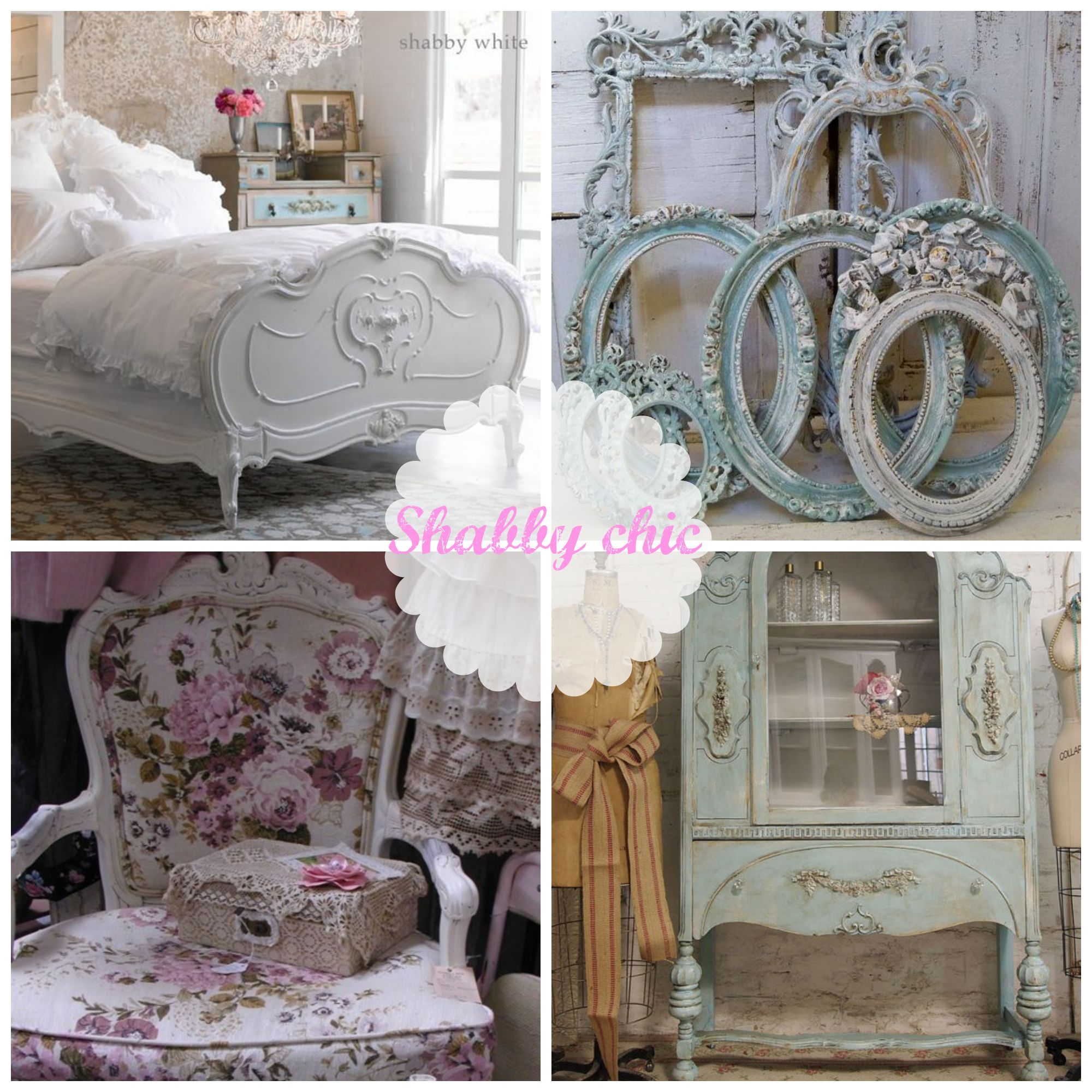 Muebles estilo shabby chic vintage decoracion pinterest for Muebles shabby