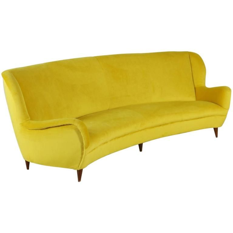 Fresh Sofa Foam Padding Velvet Upholstery Vintage Manufactured in Italy 1950s 1 Lovely - Cool 1950s sofa Bed Elegant