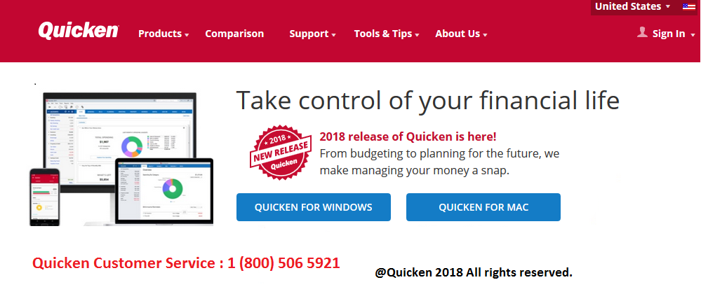 We provide Quicken accounting support services round the