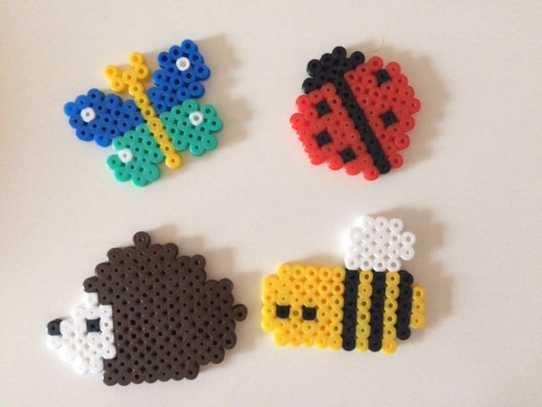 Diy Time Lapse Cute Perler Beads Honey Bees Animals Susse
