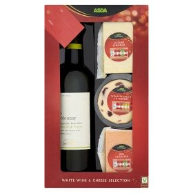 Asda Chosen By You White Wine Cheese Gift Set Online Food Shopping Cheese Gifts Grocery