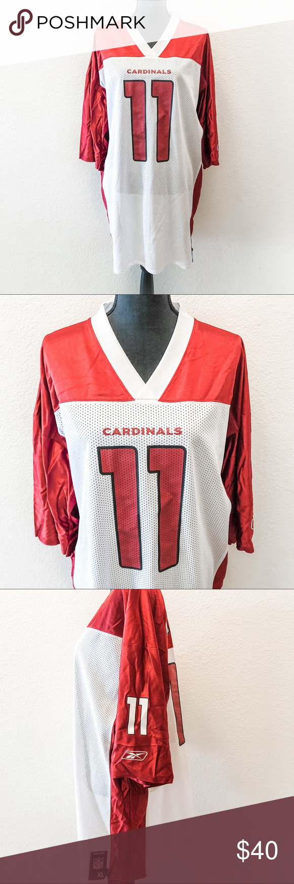 Larry Fitzgerald AZ Cardinals Official NFL Jersey | Clothes design ...