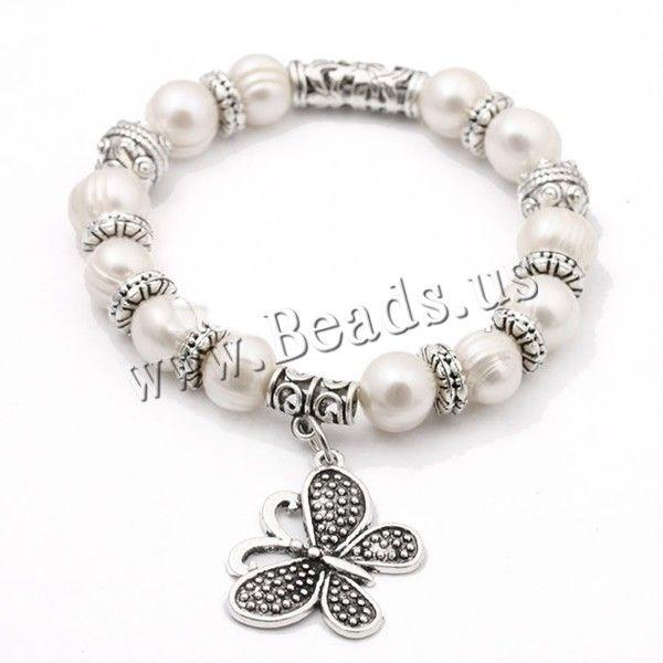 688272838217 Pulseras de Perlas Freshwater, Perlas cultivadas de agua dulce, con ...
