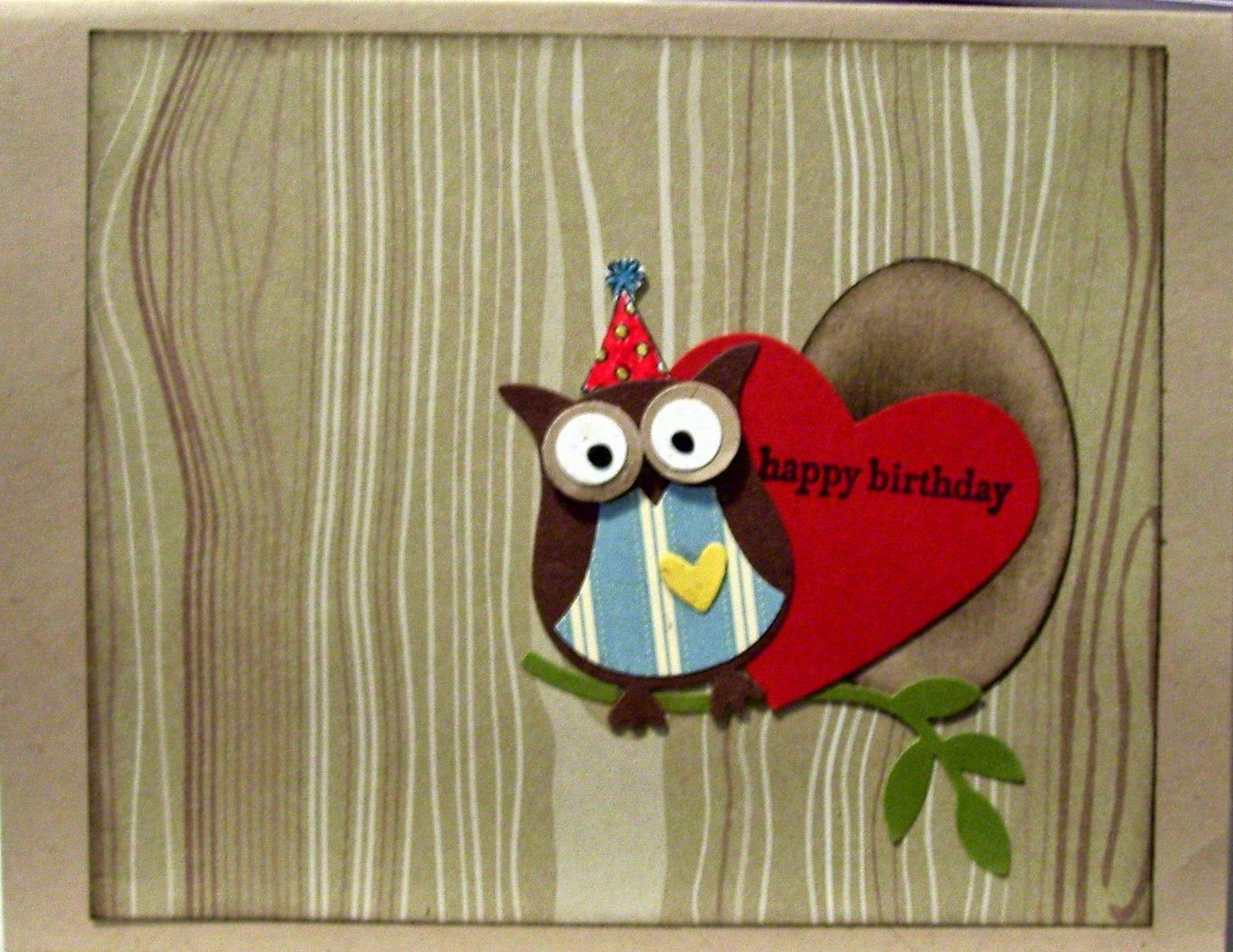 Stamping World Pop Up Valentine Happy Birthday Card Challenge 107