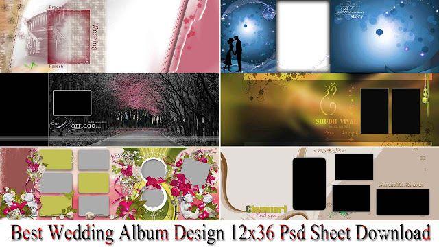 Best Wedding Album Design 12x36 Psd Sheet Download Wedding Album Design Album Design Wedding Album