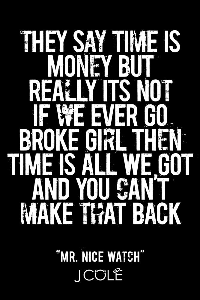 They say time is money but really its not