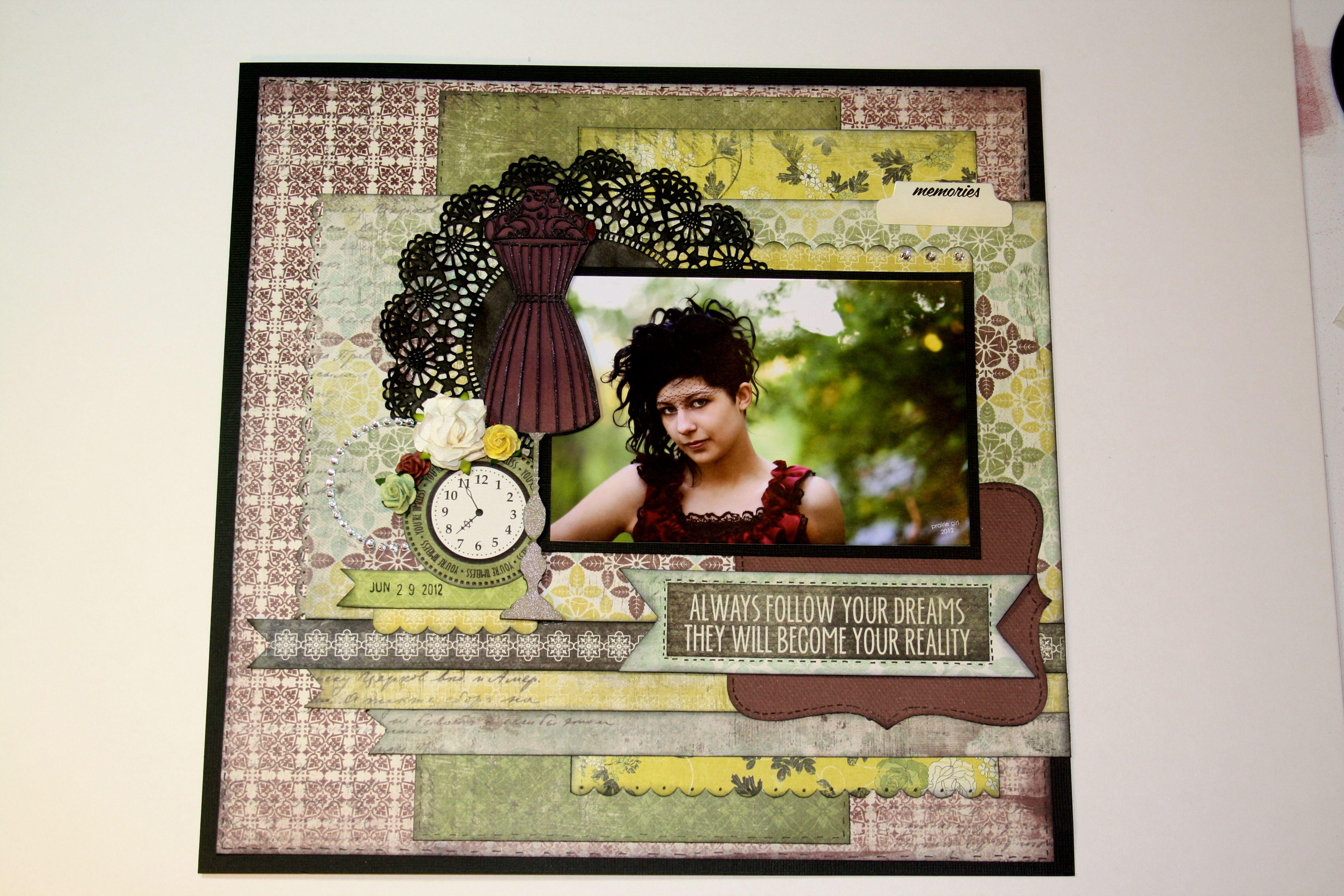 Gift for a friend Scrapbooking Girls Pinterest
