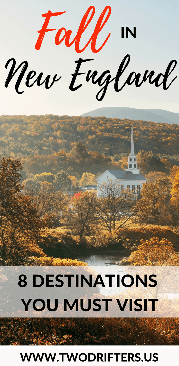 Fall in New England: The Best Towns, Orchards, Farms, Foliage, & Festivals #travelengland