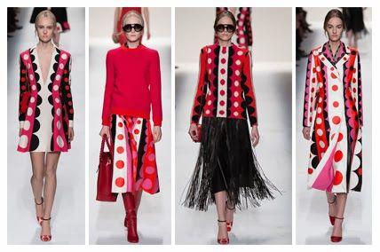 Coloristas prendas para combinar de Valentino!