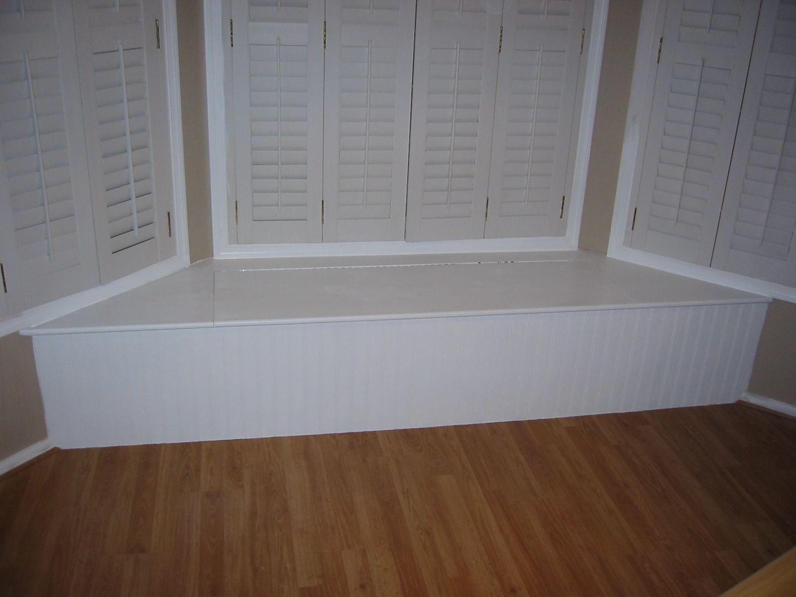 bay window love seat w storage my projects i ve done pinterest rh pinterest ca