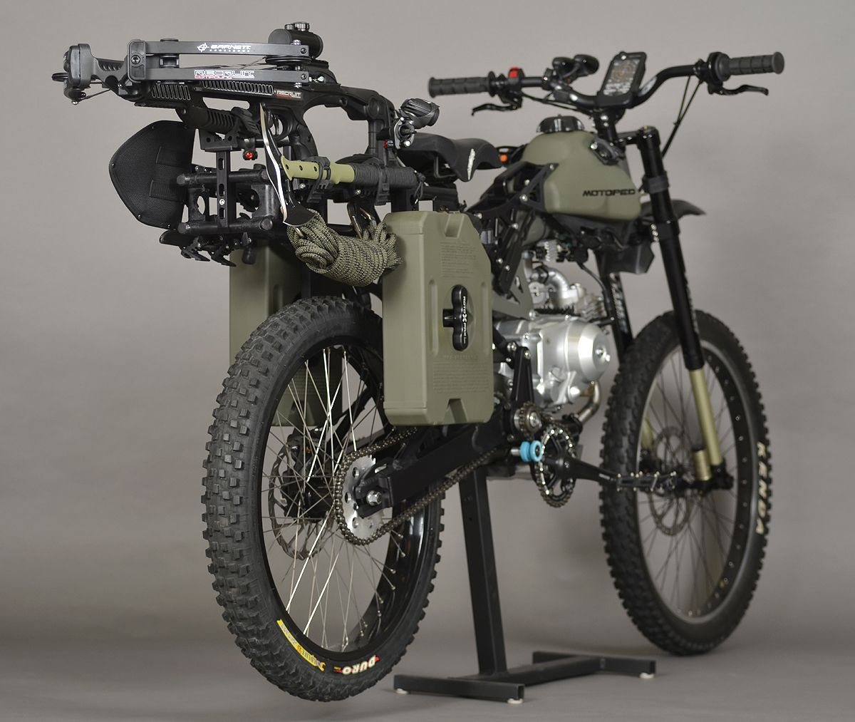 Motoped Launches Off Road Survival Moped In 2020 Bike Apocalypse Survival Survival