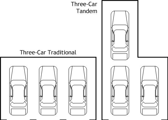 3 Car Tandem