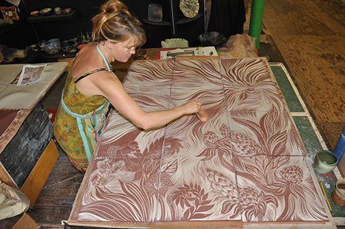 Delighted 12 X 24 Floor Tile Huge 12X12 Interlocking Ceiling Tiles Round 18 X 18 Ceramic Tile 1930S Floor Tiles Reproduction Youthful 2 X2 Ceiling Tiles Gray24X48 Ceiling Tiles Making Ceramic Tiles At Natalie Blake Studios | Art | Pinterest ..