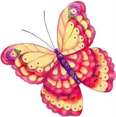 Mariposas de colores dibujos images - Imagenes de mariposas de colores ...