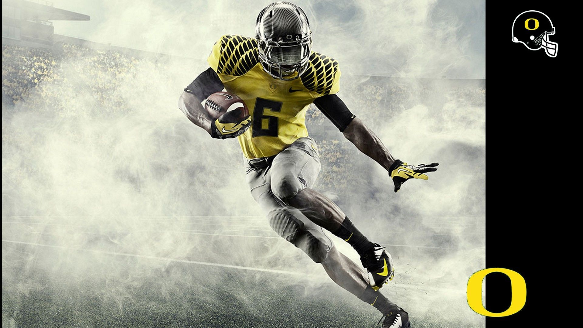 College Football Nike Oregon Ducks Background HD Wallpaper