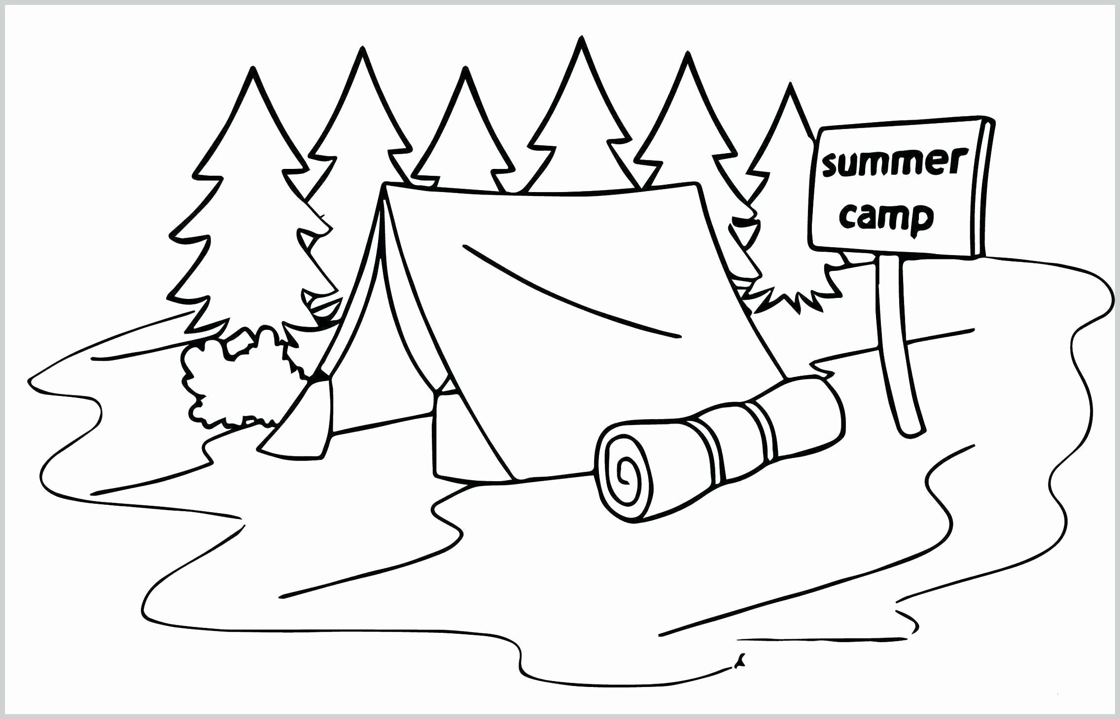 Summer Camp Coloring Pages Beautiful Monthly Archives
