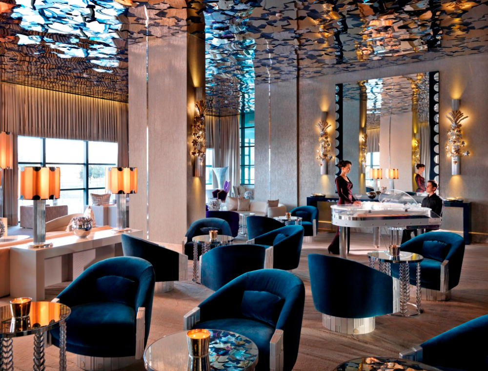Pin By Kerri Weems On Materials Finishes Luxury Restaurant Lounge Interiors Lounge Design