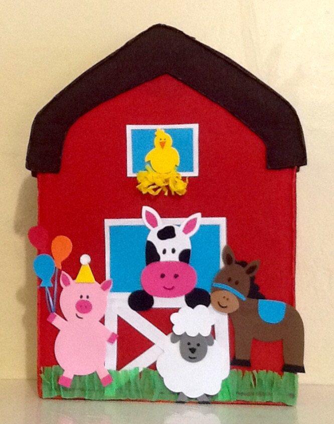 Imagen Relacionada Animales De La Granja Piñatas De Carton Fotos De Cumpleaños