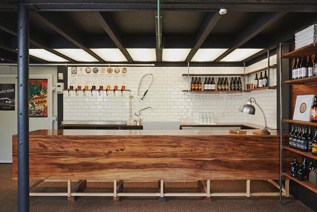 Unique Basement Brewery Design