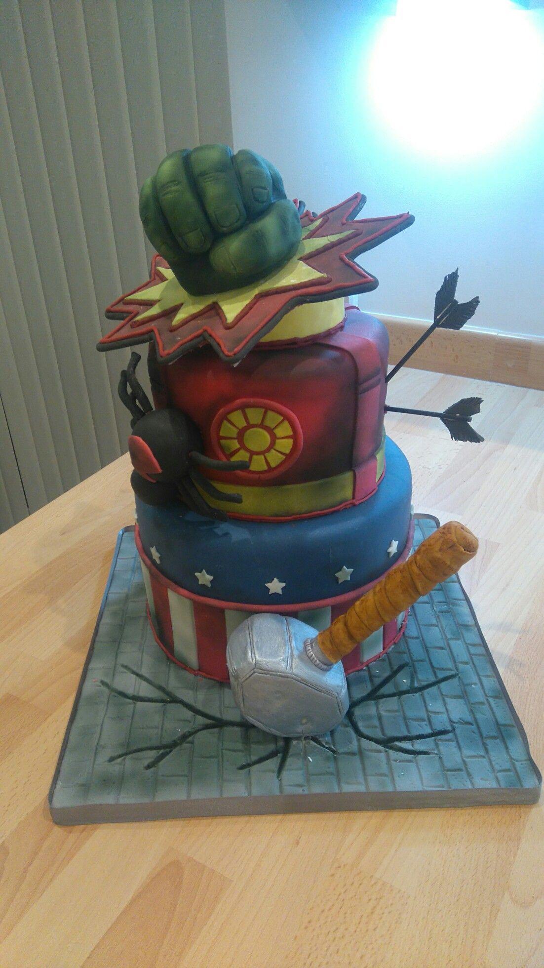 America Thor Marvel Avengers Kinder Geburtstag Party Masken Iron Man Hulk C