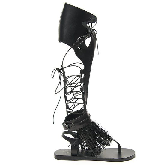 Marios Schwab: High Gladiator Sandal #fashion #shoes