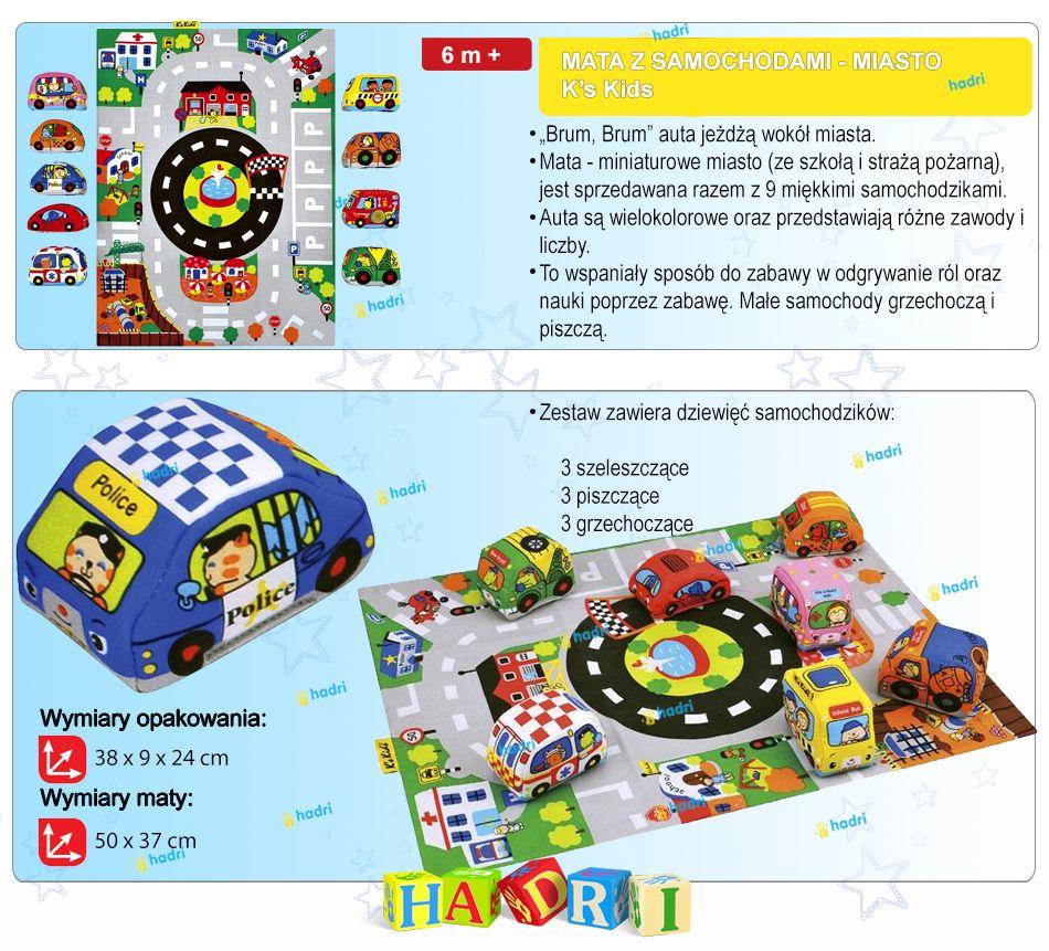K S Kids Mata Z Samochodami Miasto Miekkie Auta 5590193851 Allegro Pl Wiecej Niz Aukcje