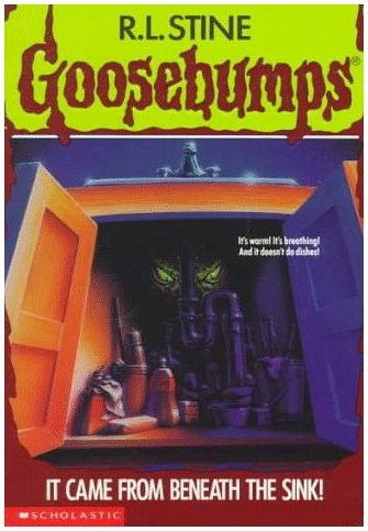R L Stine Goosebumps 30 It Came From Beneath The Sink