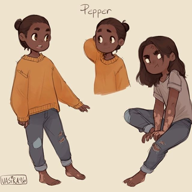 Good Character Design Ideas : Instagram media by vasira my new son pepper art ocs