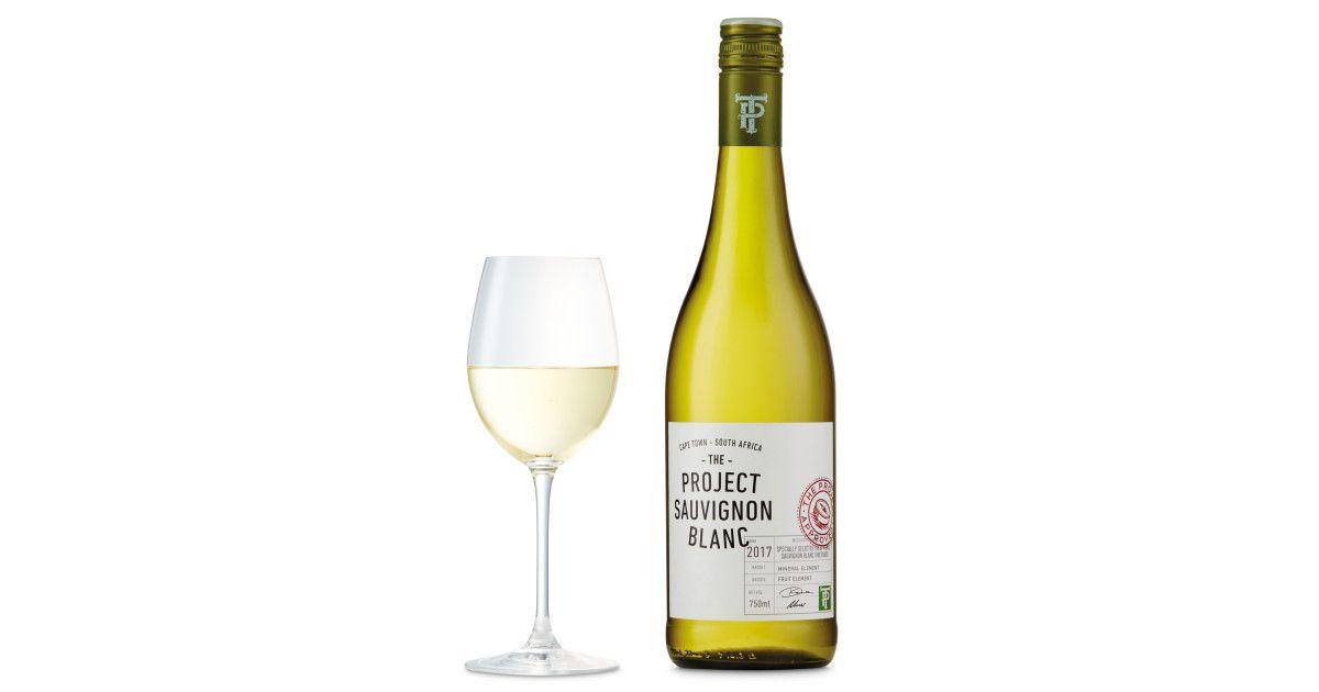 The Project Sauvignon Blanc Sauvignon Blanc Vegan Wine Sauvignon