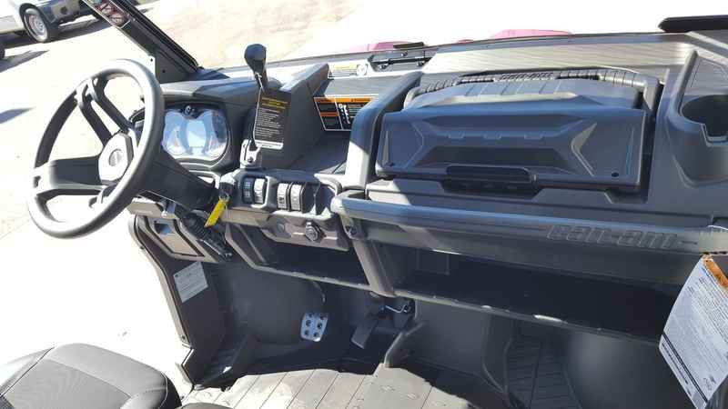 New 2016 Can-Am Defender XT HD10 ATVs For Sale in Arizona. 2016 Can-Am Defender XT HD10, DOUBLE REBATES...ACT NOW!!<br><br>Low Payments Apply now!<br /> <br /> 2016 Can-Am® Defender XT HD10 READY TO TAKE ON THE JOB <p> The Defender XT comes equipped with many factory-installed accessories including 27 Maxxis Bighorn 2.0 tires mounted on 14 wheels and Dynamic Power Steering for better handling and steering.</p> Features may include: <ul> <li> Dynamic Power Steering (DPS)</li> <li> 14-in…