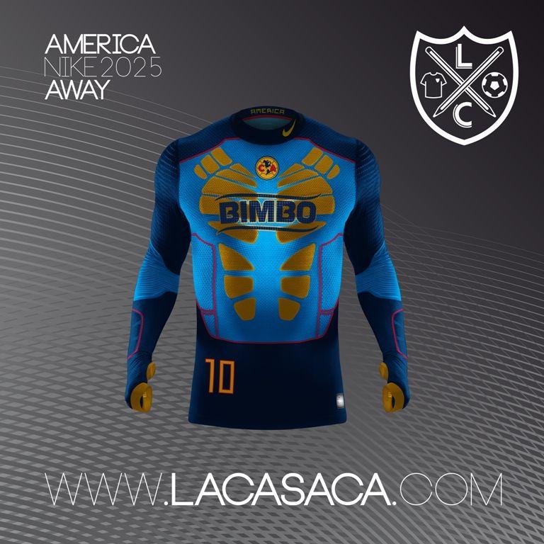 178eaf6c05965 Nike 2025 Fantasy Kits - América Away