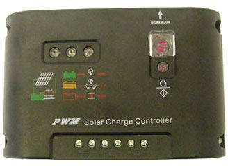 Solar Charge Controller (120W, 12V/24V Auto Detection, 10A Rate ) for SLA or LFP Battery