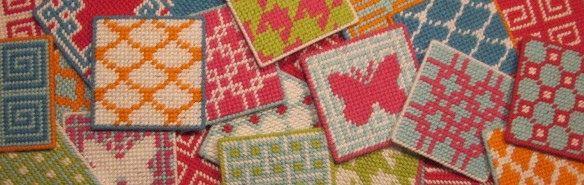 coasters by Jenny Henry Designs, via Flickr