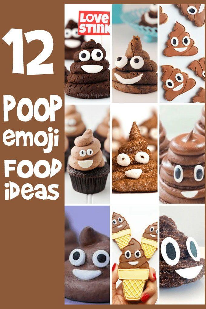poop emoji food ideas a roundup of poop emoji food ideas for emoji party emoji food ideas and food