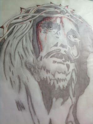 drawing from juvenile drawing juvenile jesus