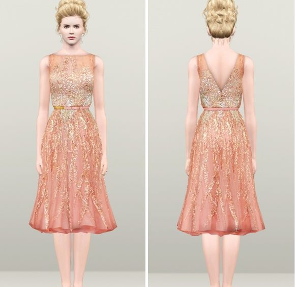 Oscar 2013- Nicole kidman Gown Dress at Rusty Nail - Sims 3 Finds ...