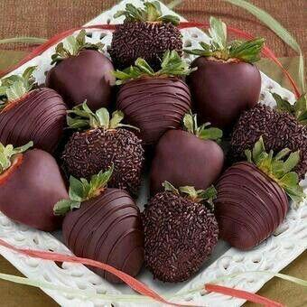 Choclate strawberries