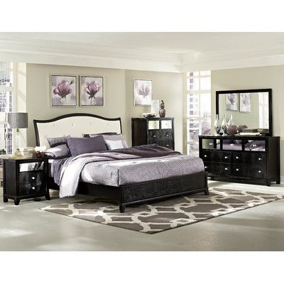Woodbridge Home Designs Jacqueline Panel Bed Reviews Wayfair