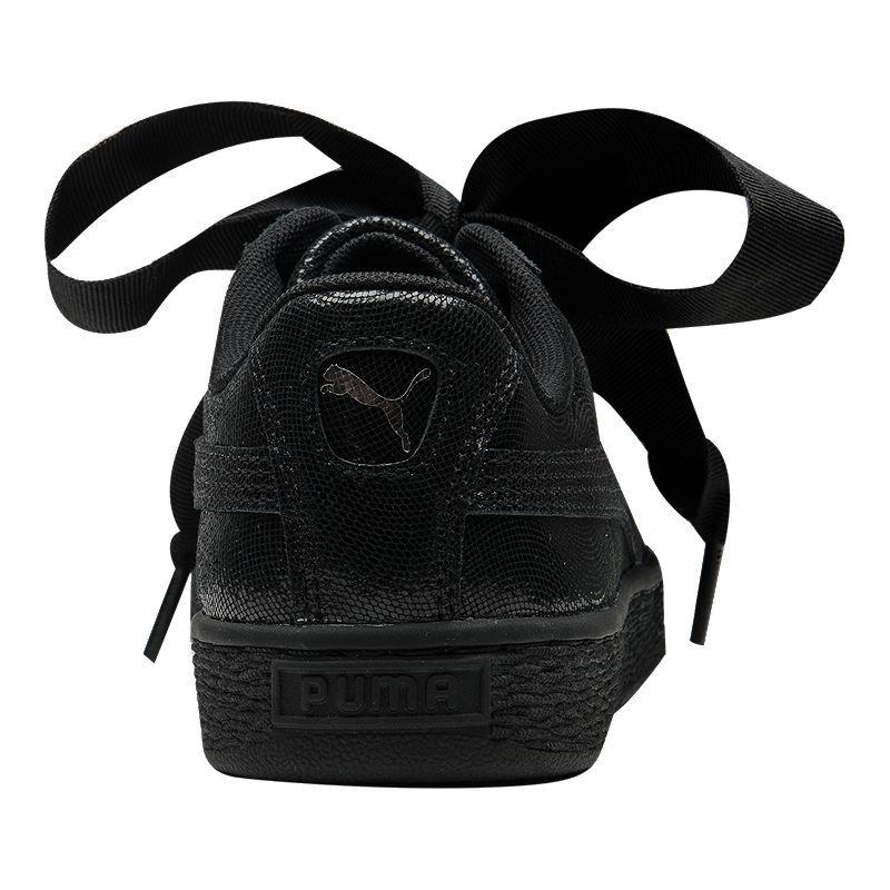 puma basket heart night sky noire