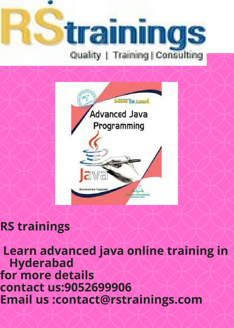 Advanced Java is the next advanced level concept of Java