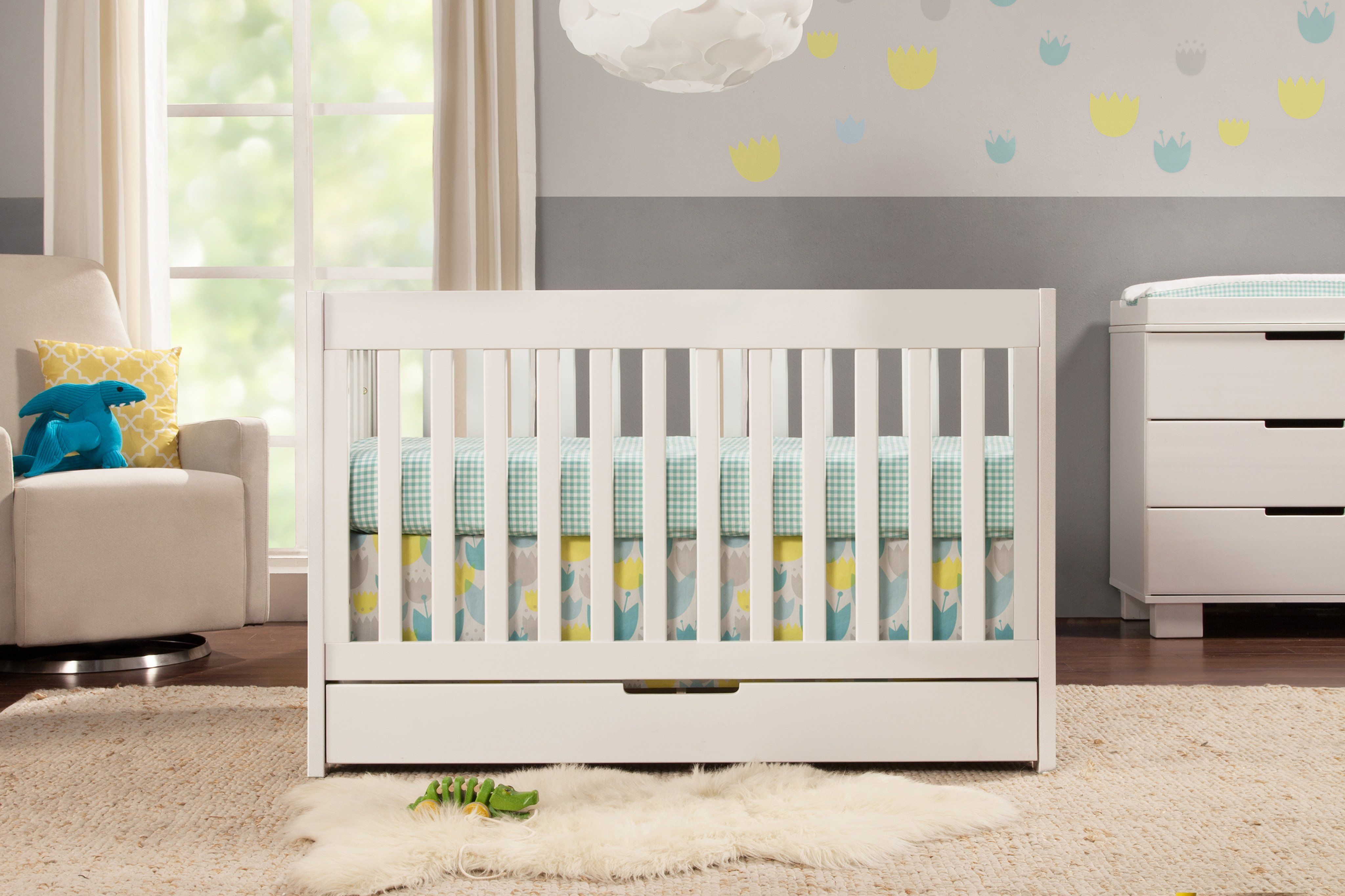 Mercer 3in1 Convertible Crib with Toddler Bed Conversion