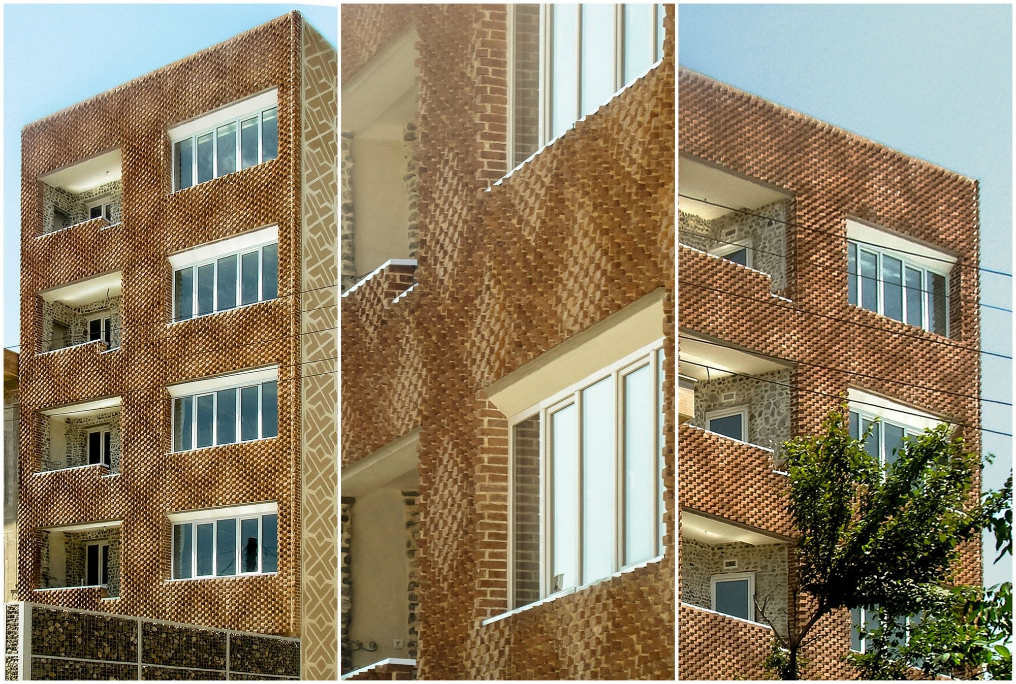 """DIY For Architects"""" This Parametric Brick Facade Was Built Using"""
