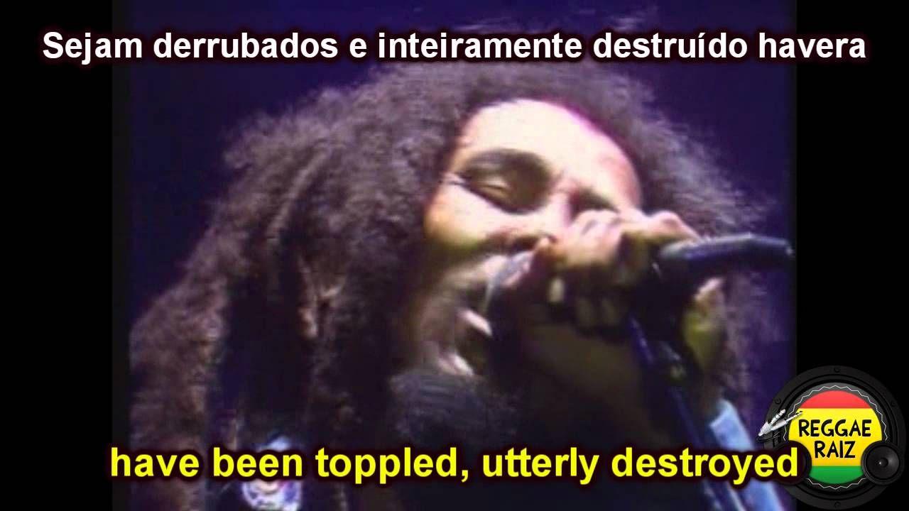 Bob Marley War Traducao Bob Marley Radio Reggae E Musica