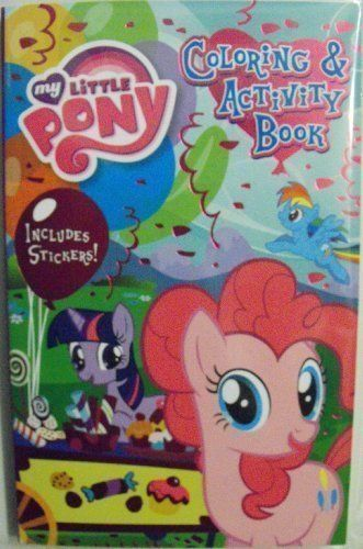 My Little Pony 160 Page Digest Coloring and Activity Book with