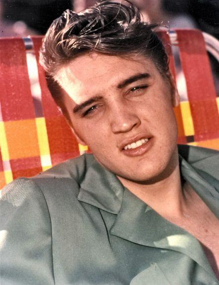 Elvis Presley The Blonde In The Pic Elvis Presley Elvis