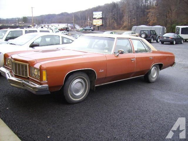 1975 Chevrolet Impala Chevy Impalas Chevrolet Impala
