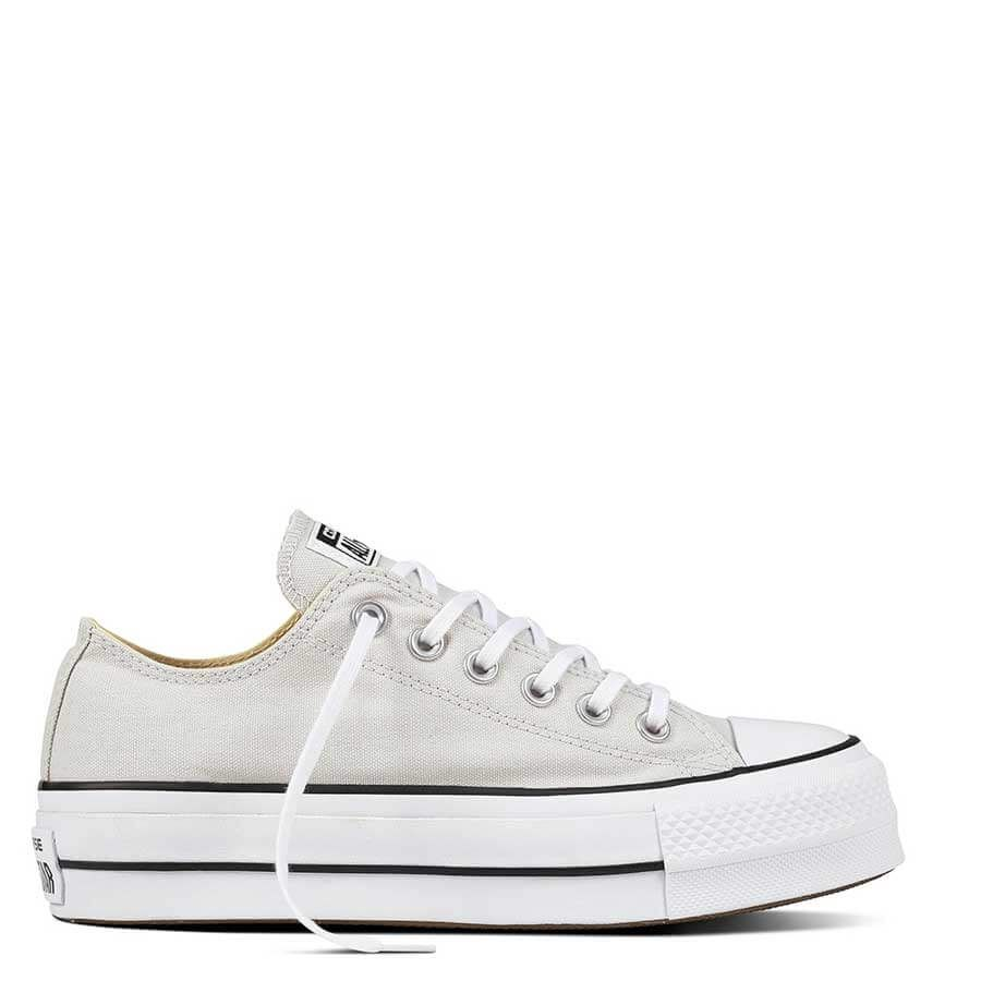 sitio de buena reputación outlet comprar mejor Converse Chuck Taylor All Star Shoes CTAS Lift OX in Mouse 560686C ...